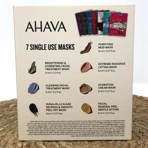 AHAVA Skincare - Ahava Mask Movement Set of 7 Skincare Set NEW